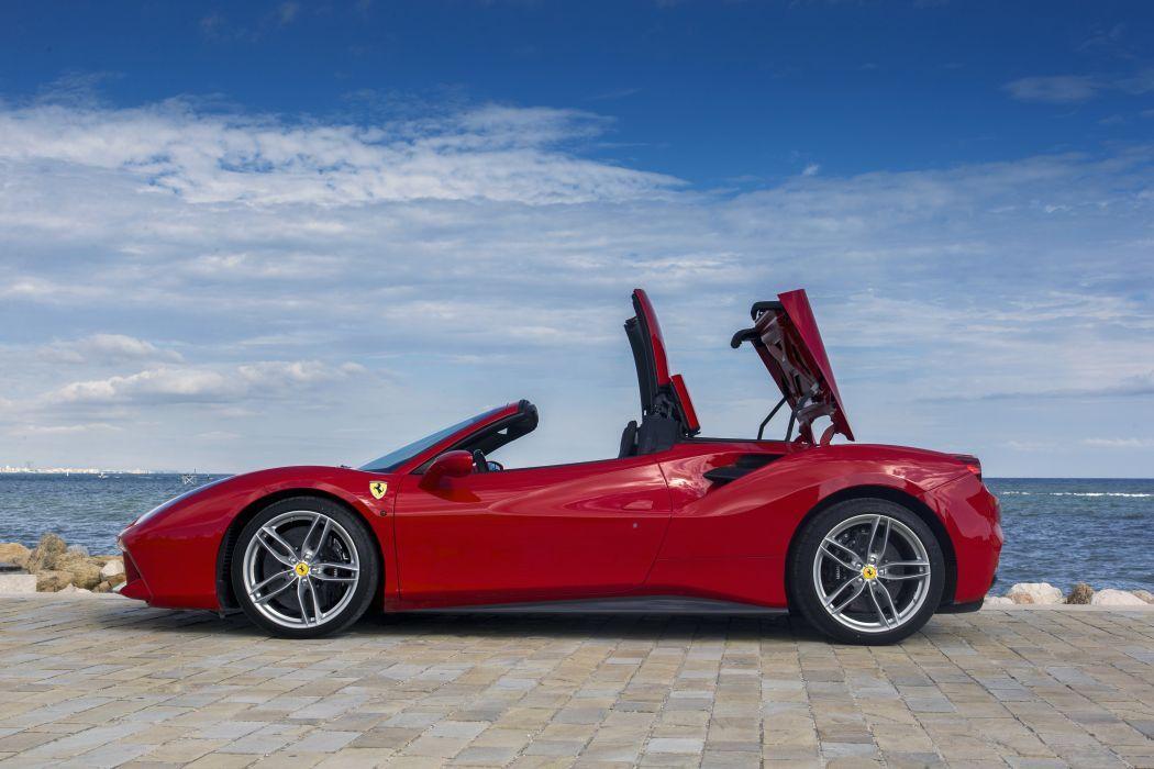 Rent a Ferrari 488 Spider in Porto Santo Stefano and have fun!