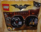 The Lego Batman Movie 5004929  Batman Battle Pod Tiger Tuxedo Batman Sealed