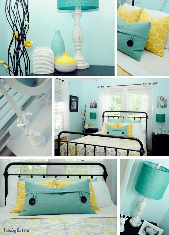 Photo By Xochar214 Teal Bedroom Teal Master Bedroom Yellow Master Bedroom #teal #and #yellow #living #room #ideas