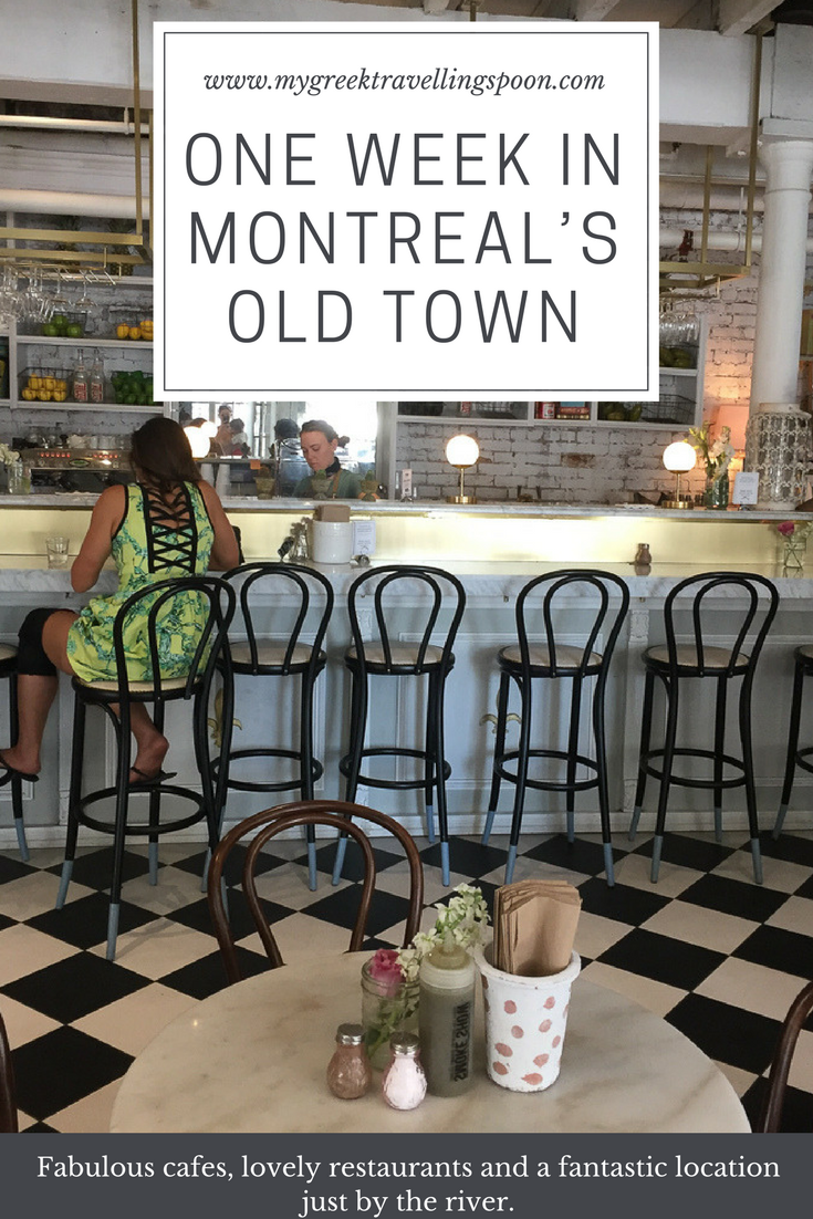Last August We Spent A Week Exploring Montreal S Old Town With Its Fabulous Cafes Lovely