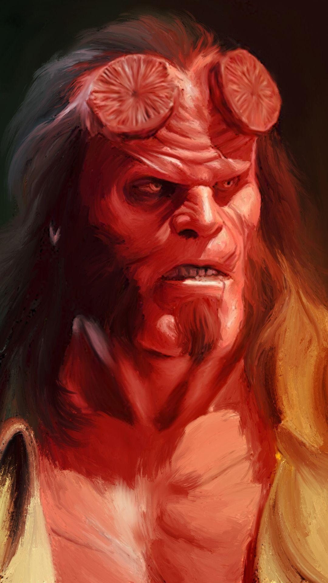 Hellboy Hd Hellboy Wallpaper Hellboy Movie Hellboy Art