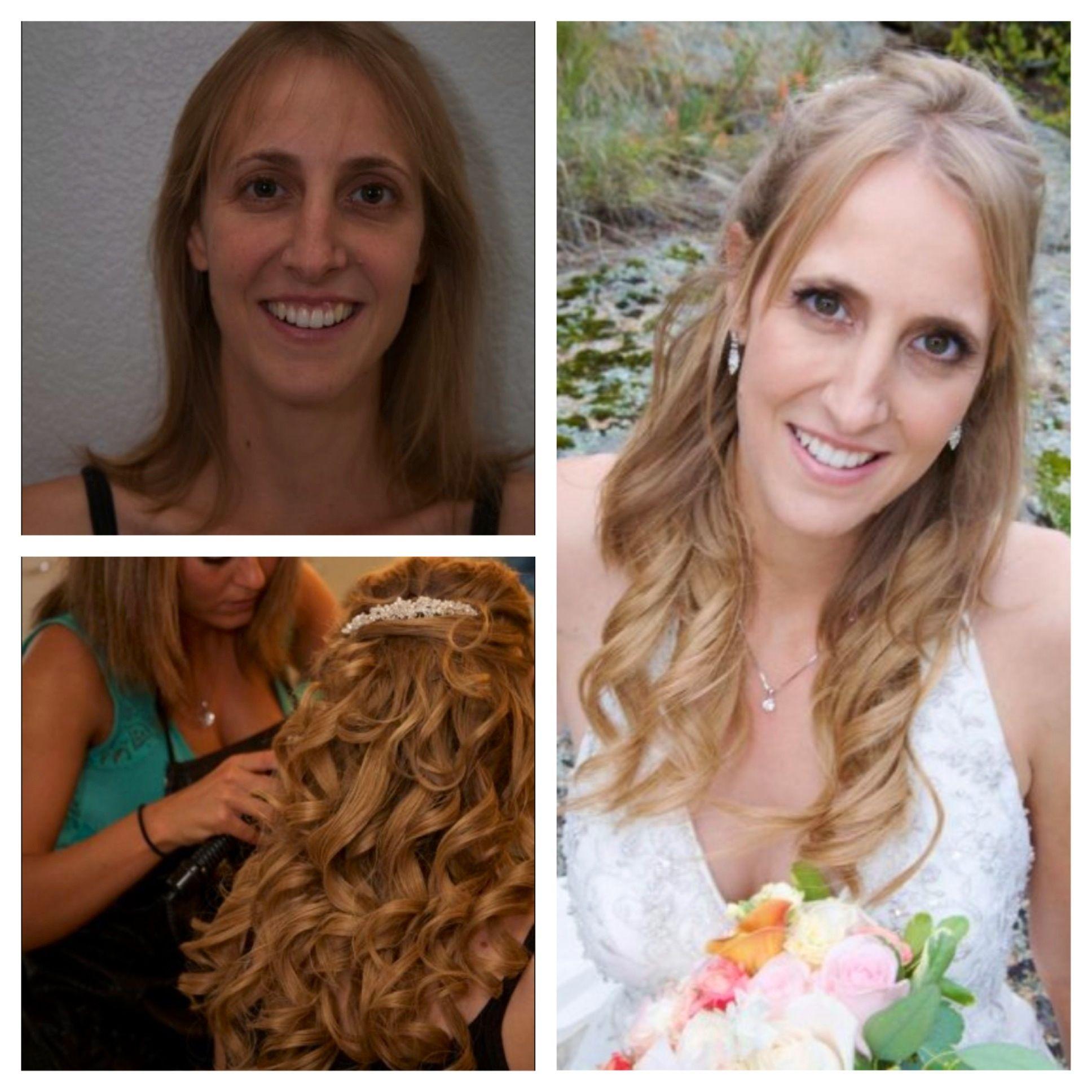 Airbrush Makeup and Hairstyling Hair makeup, Makeup