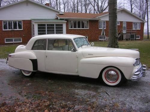 Lucille Ball S 1947 Lincoln Continental Coupe Lincoln Cars Lincoln Continental Lincoln Motor