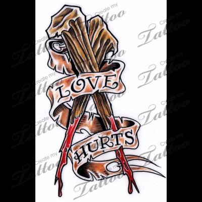 Marketplace Tattoo Love Hurts 3028