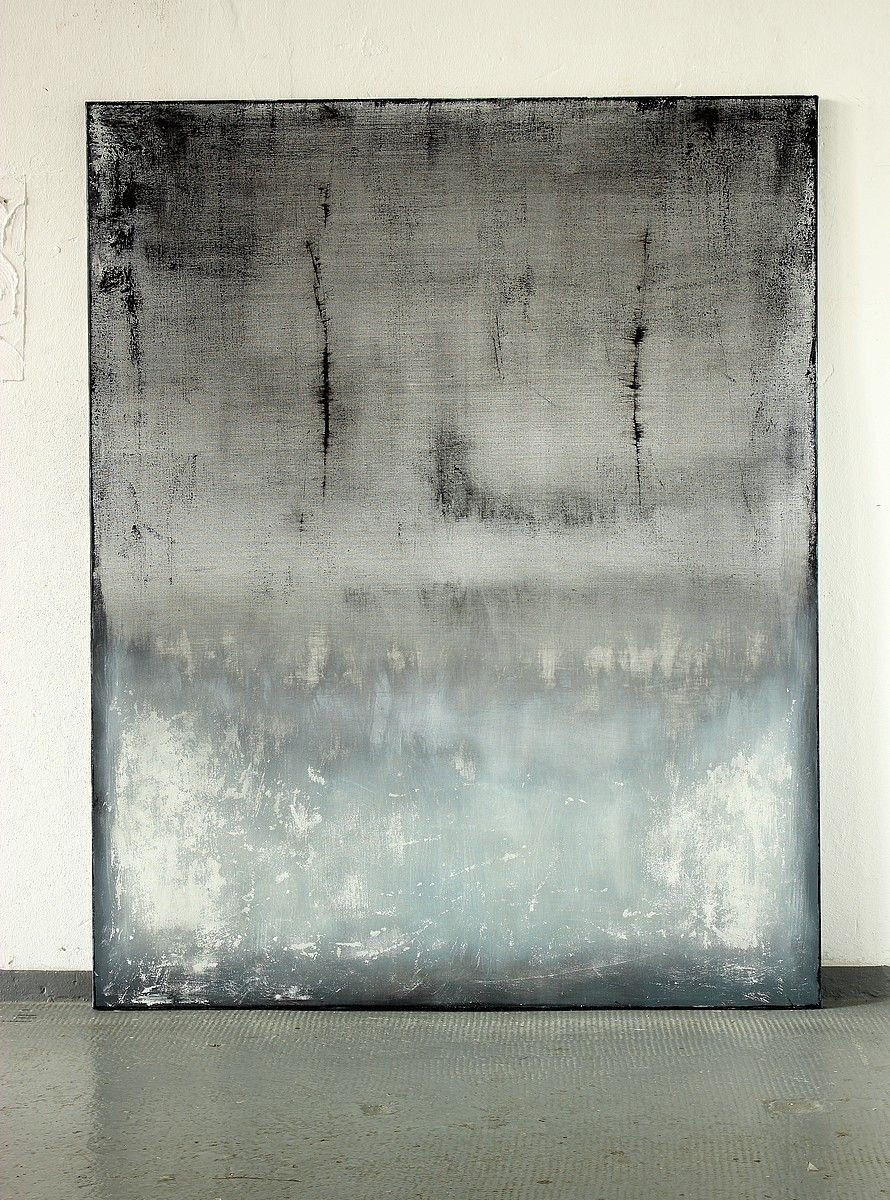 christian hetzel iceblue malerei abstrakte kunst abstrakt bild grün berühmte maler