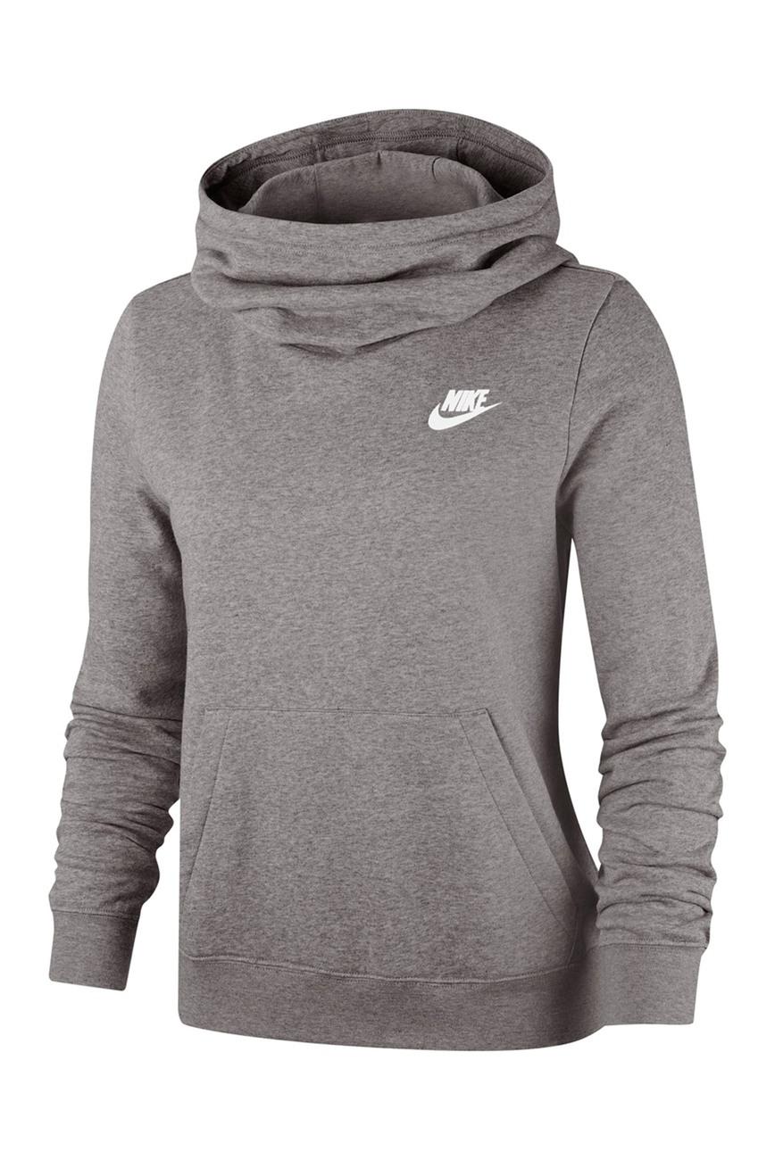 Nike Funnel Neck Fleece Lined Varsity Hooded Pullover Nordstrom Rack Funnel Neck Hoodie Hooded Pullover Long Sleeve Hoodie [ 1300 x 868 Pixel ]