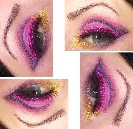 THE MAD HATTER via #brokat #eyemakeup #blueshadow inspiration & beautyideas - bellashoot.com