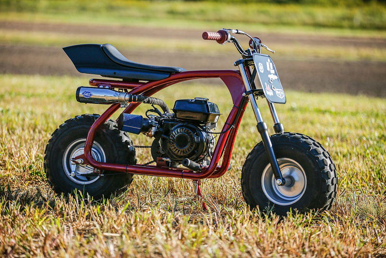 Racing Custom Coleman Mini Bikes With Icon In 2020 Mini Bike Custom Bikes Tracker Motorcycle