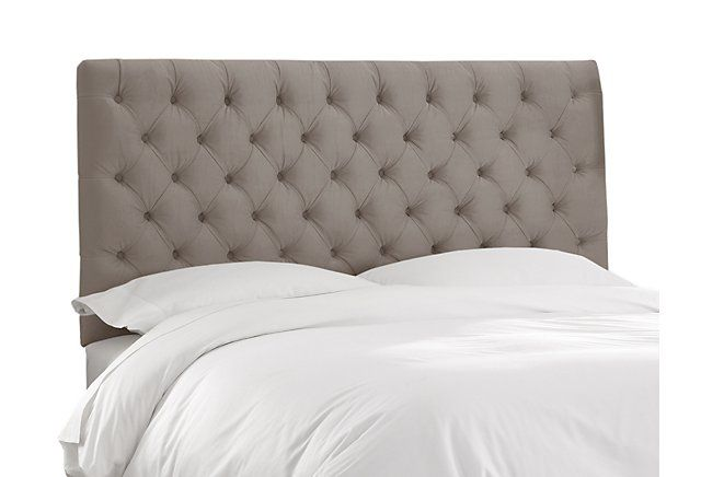 Thea Tufted Headboard, Taupe Dream On One Kings Lane Master - Lane Bedroom Furniture