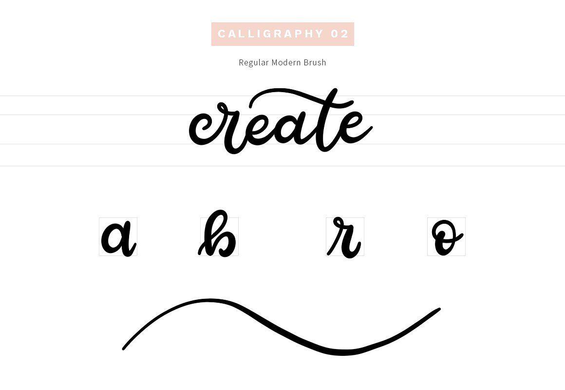 Sketchbook Brushes 1 Calligraphy Sketch Book Lettering Brush