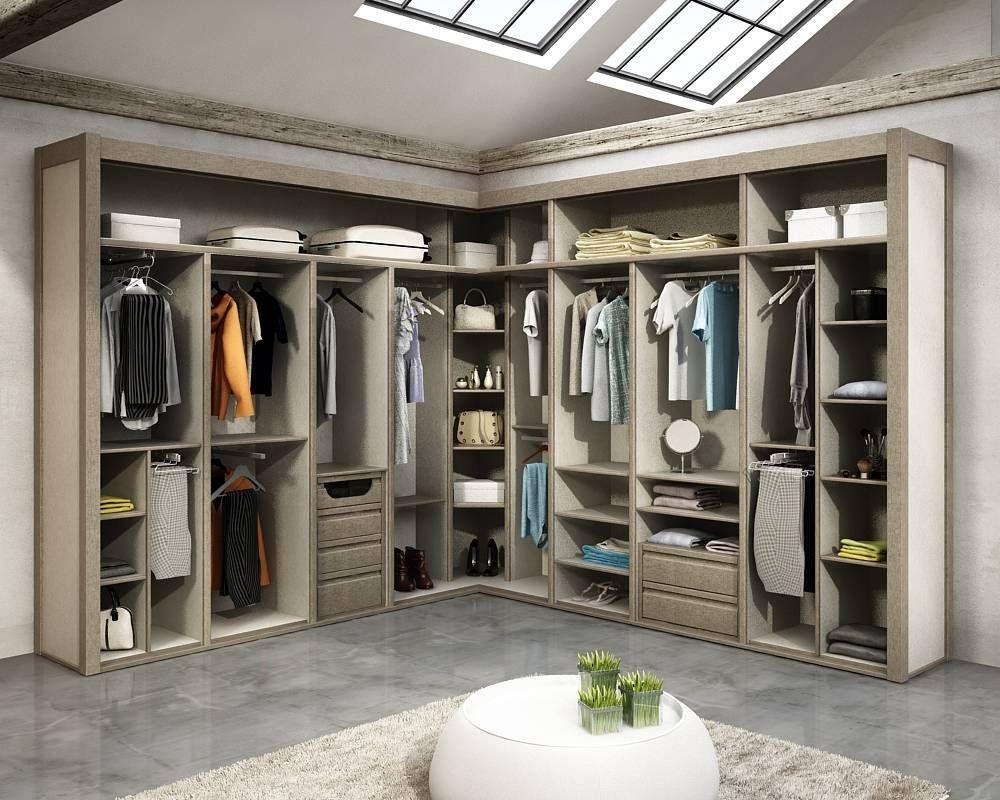 10 vestidores modernos ¡y fabulosos! | Vestidores modernos, Vestidor ...