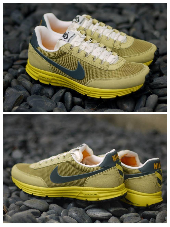 newest 44bb6 c7f35 Nike Lunar LDV Trail Low  Dusty Yellow