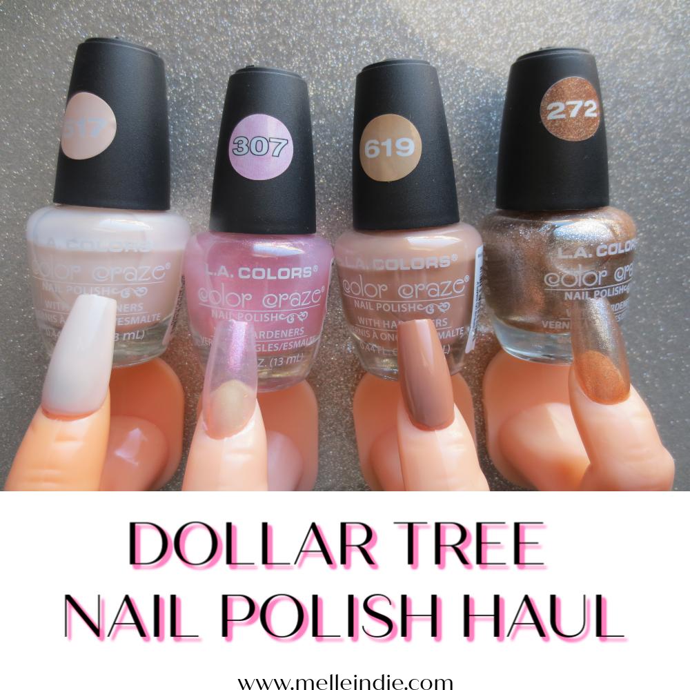 Dollar Tree La Colors Nail Polish Haul Color Swatch Nail Polish La Colors Nail Polish Kiss Gel Nails