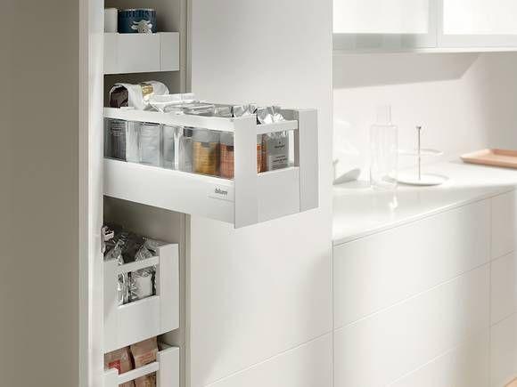 der vorratsschrank auch f r kleine k chen m bel einrichtung pinterest. Black Bedroom Furniture Sets. Home Design Ideas