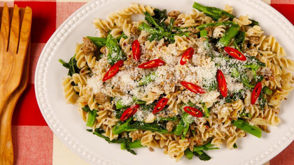 Turkey and Rapini Fusilli Recipes Best Recipes Ever