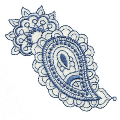 Paisley Embroidery Pattern Scroll Down To Bottom Of Page To Order