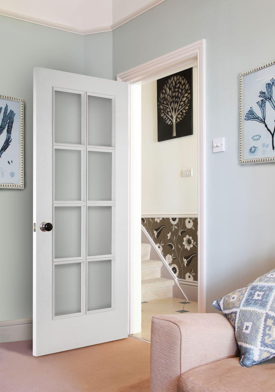 8-Light White Bespoke Door | Internal Doors | Charles Todd & 8-Light White Bespoke Door | Internal Doors | Charles Todd | Work ... Pezcame.Com