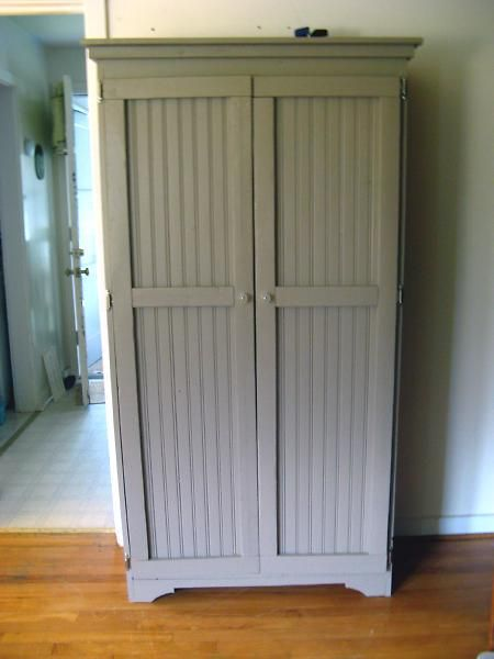 Beadboard Cabinet For The Bathroom Or Pantry Diy To Do List