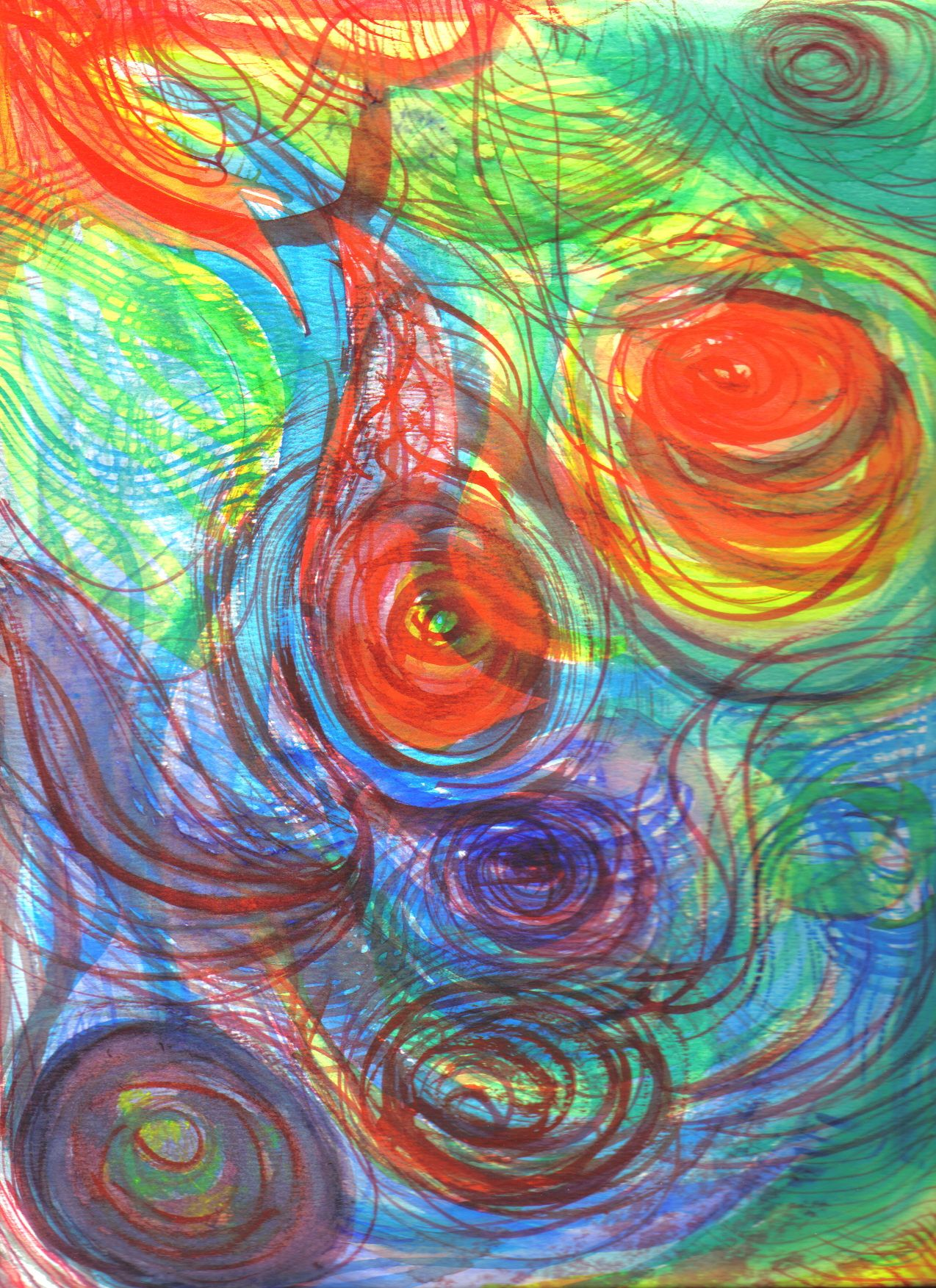 Non-objective watercolor by atheist-ashtray.deviantart.com ...