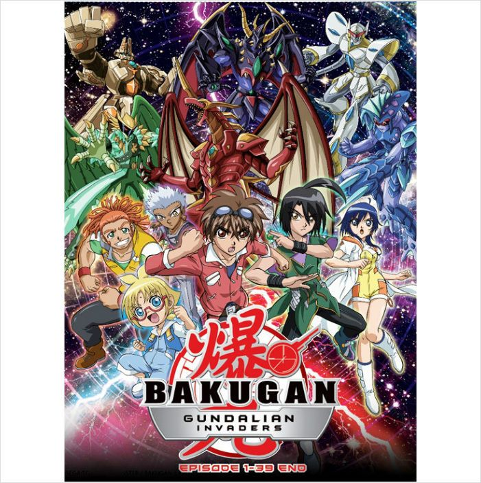 Dvd Anime Bakugan Battle Brawlers Season 3 Bakugan Gundalian