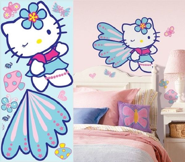 Hello Kitty Stickers Large: Hello Kitty Stickers Large