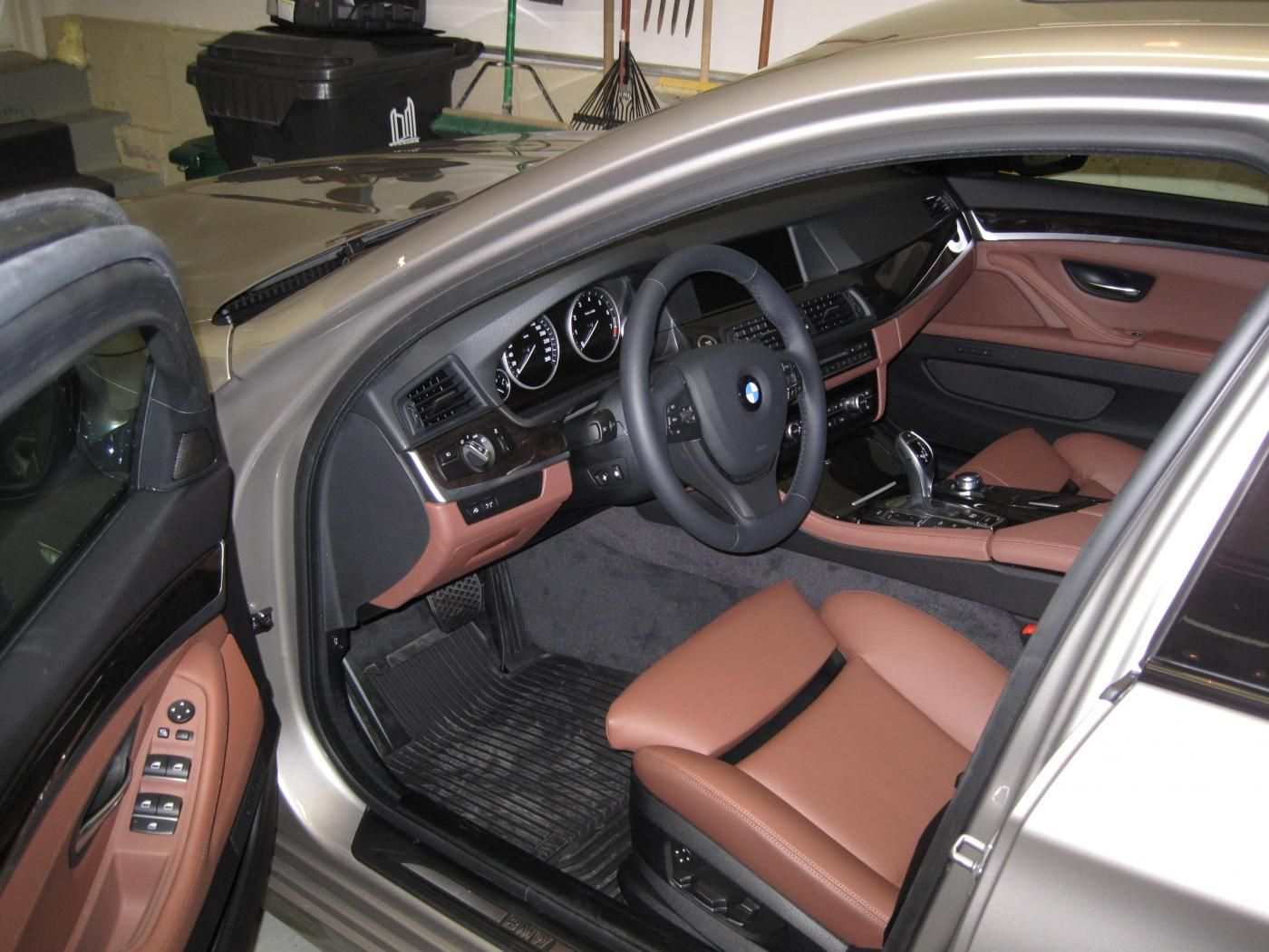 Bmw 3 Series Grey Cinnamon Brown Black Silver Interior Chocolate