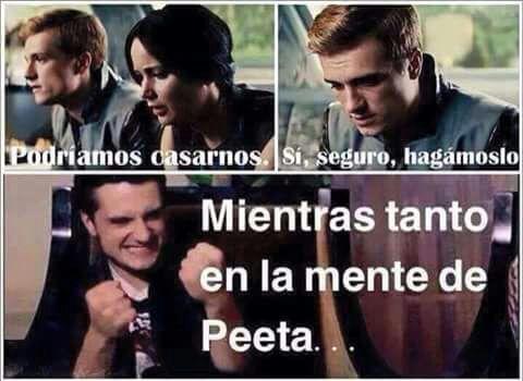 Los Juegos Del Hambre Memes Katniss Copiona Amo Leer