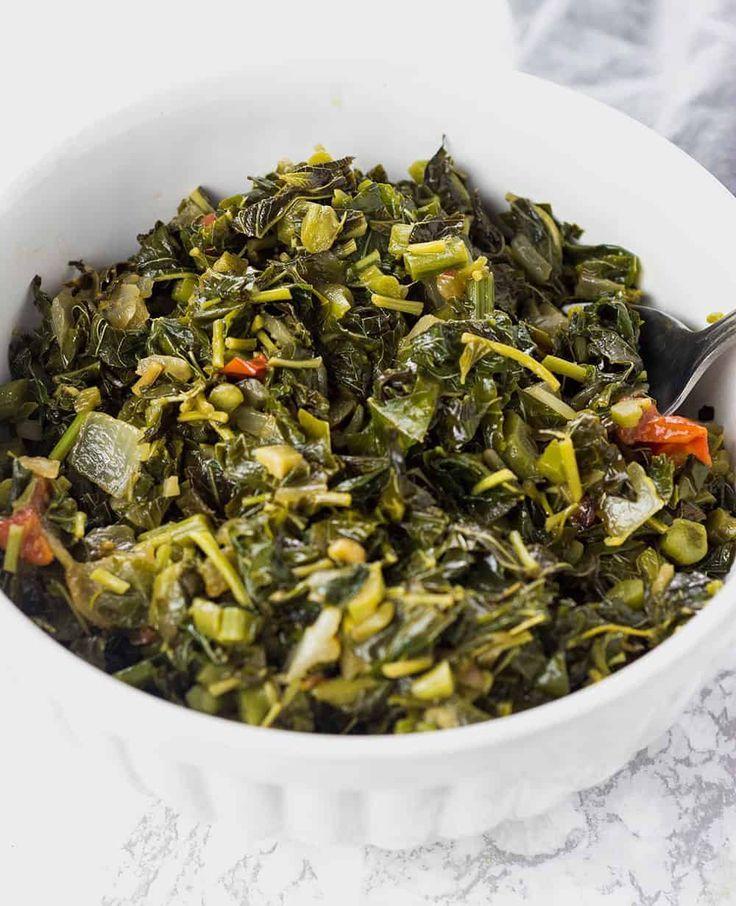 jamaican callaloo easy to prepare recipe jamaican