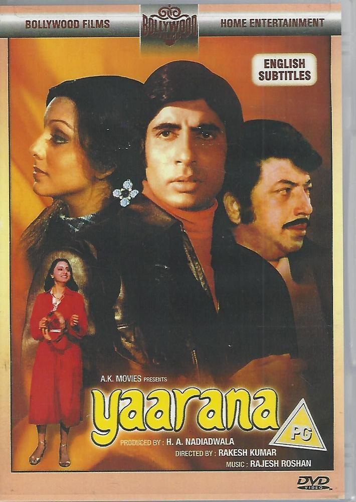 Yaarana Dvd Color English Sub Titles Amitabh Bachan Amjad Khan Mp3 Song Download Film New Hollywood Movies