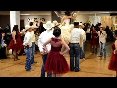 b92c1047732 Brianna Tremillo Quinceanera Vals Surprise Dance - YouTube