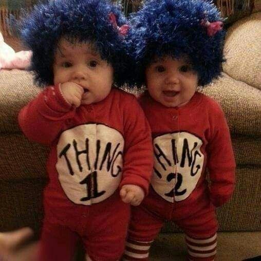 Cosa 1 y cosa 2 para las ni as pinterest cosas - Disfraces para gemelos ...