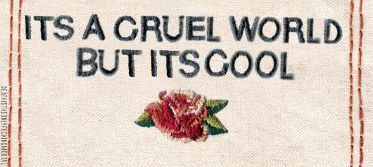 @freckledust // 'modern life is rubbish'