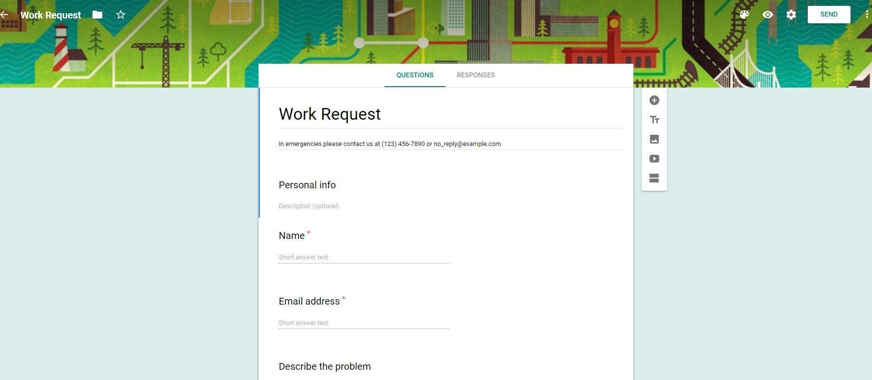 Cómo Crear Y Personalizar Un Formulario De Google Formularios Google Compañeros De Trabajo