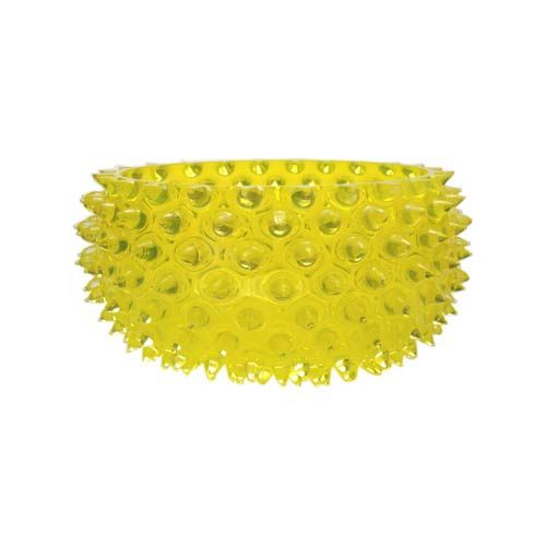 Yellow Decorative Bowl Glamorous Union Street Glass Urchin Lemon Yellow Large Serving Bowl  Lemon 2018