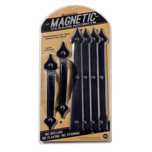 Magnetic Carriage House Door Hardware 6 Piece Set At