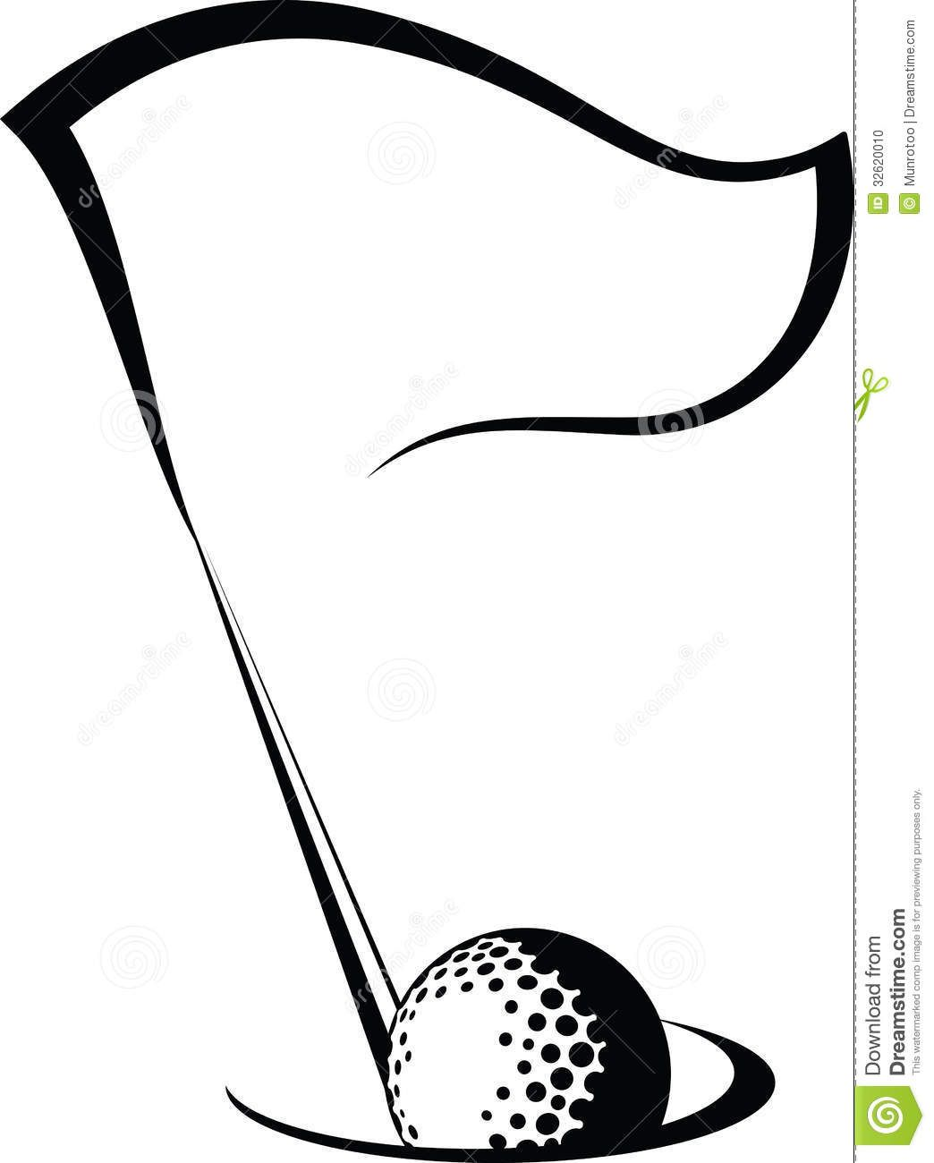 Golf Flag With Ball In Hole Download From Over 62 Million High Quality Stock Photos Images Vectors Sign Up For Free Golf Ball Crafts Golf Tattoo Golf Art