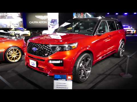 New Custom 2020 Ford Explorer St Galpin Customs 2019 La Auto Show Los Angeles Ca Youtube Ford Explorer 2020 Ford Explorer Ford