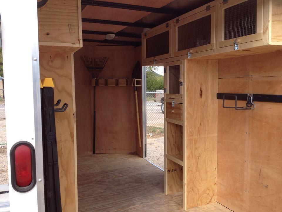 Portable cargo trailer workshop cargo trailers for Rv workshop