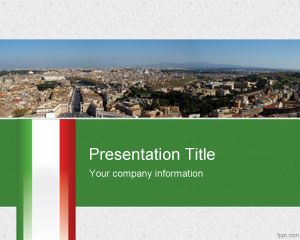 Italian powerpoint template is a free template for presentations on italian powerpoint template is a free template for presentations on travel italy or related to italy toneelgroepblik Images