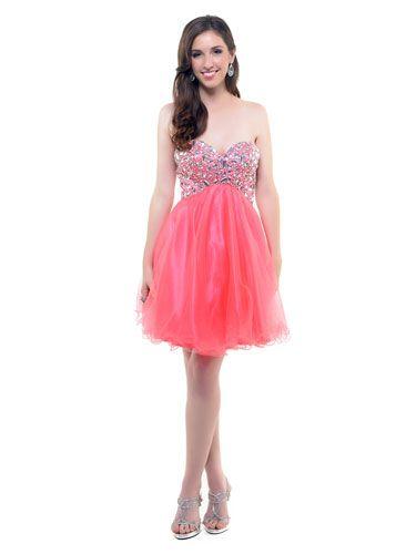 18 Gorgeous Prom Dresses Under $100   Pinterest   Hot pink, Pink ...