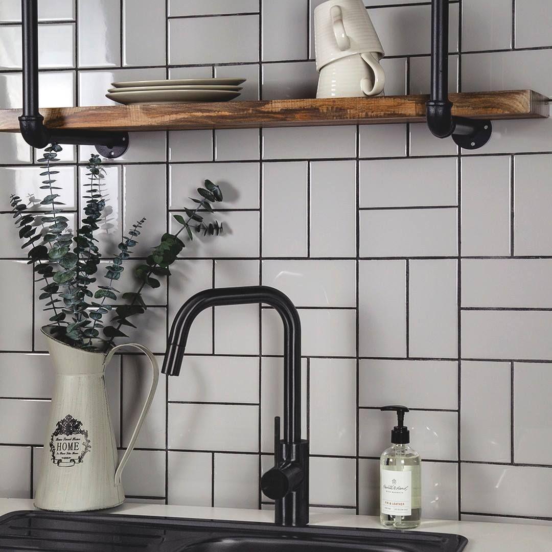 Nemo Tile Company On Twitter White Subway Tile Kitchen White Subway Tile Backsplash Modern Kitchen Backsplash