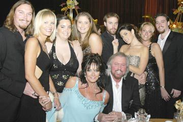 Barry Gibb Family