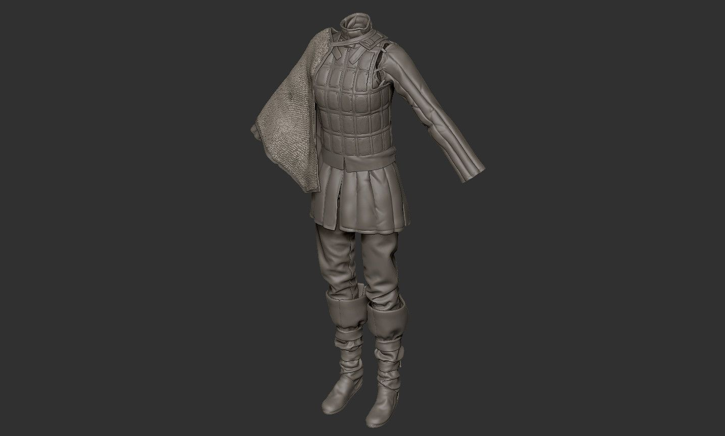 ArtStation - Medieval Light armour, Ethan Noble