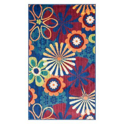 Loloi Isabella HIS-01 Indoor Area Rug Blue/Multicolored - ISBEHIS01BBML2239, LLR1654-2