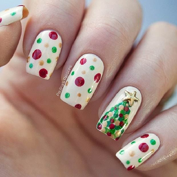 31 Christmas Nail Art Design Ideas - 31 Christmas Nail Art Design Ideas Christmas Nail Art Designs