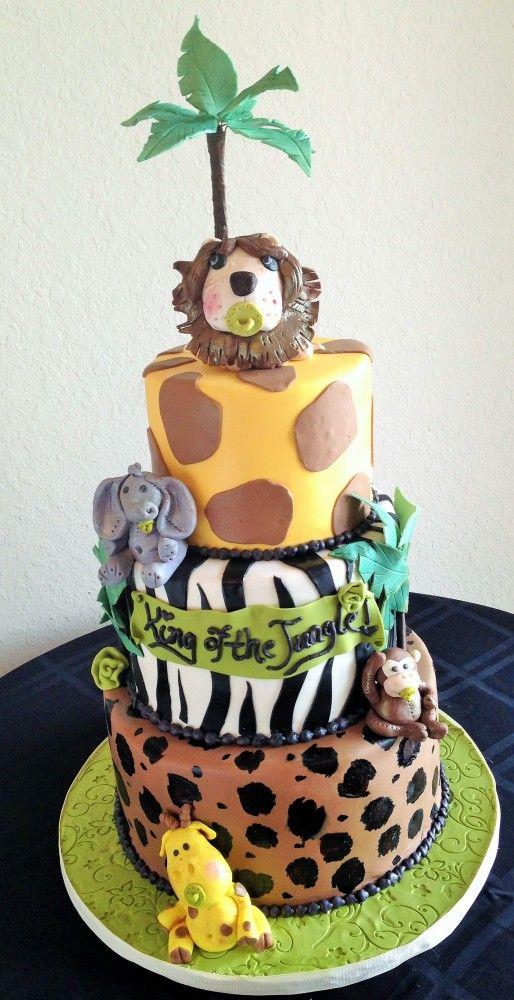 Brilliant King Of The Jungle Cake Sweeter Than The Rest Orlando Florida Personalised Birthday Cards Xaembasilily Jamesorg