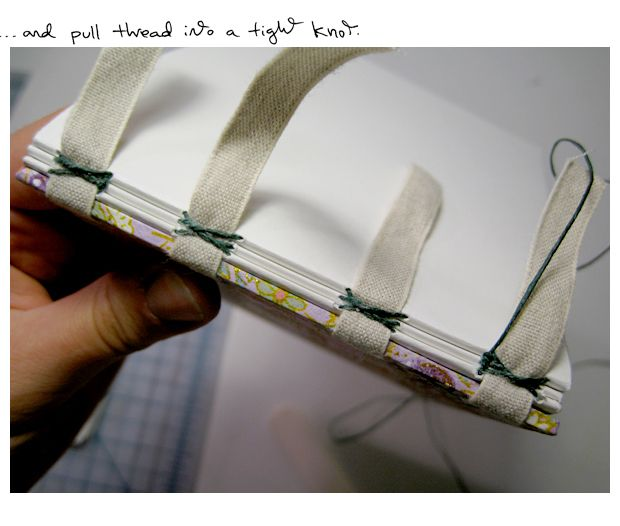Bookarts: Exposed Tape Binding (Tutorial!)