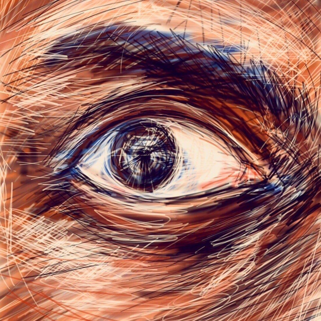 Rag #draw #mobile #poor #sketch anger #rage #eyes #art #face ...
