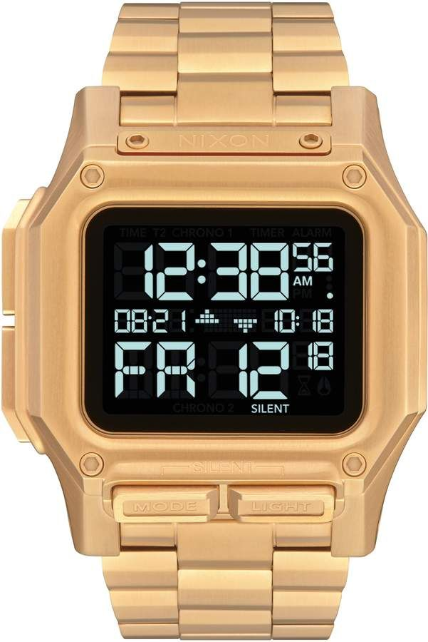 Nixon Regulus Digital Bracelet Watch, 46mm | Nordstrom #sportswatches