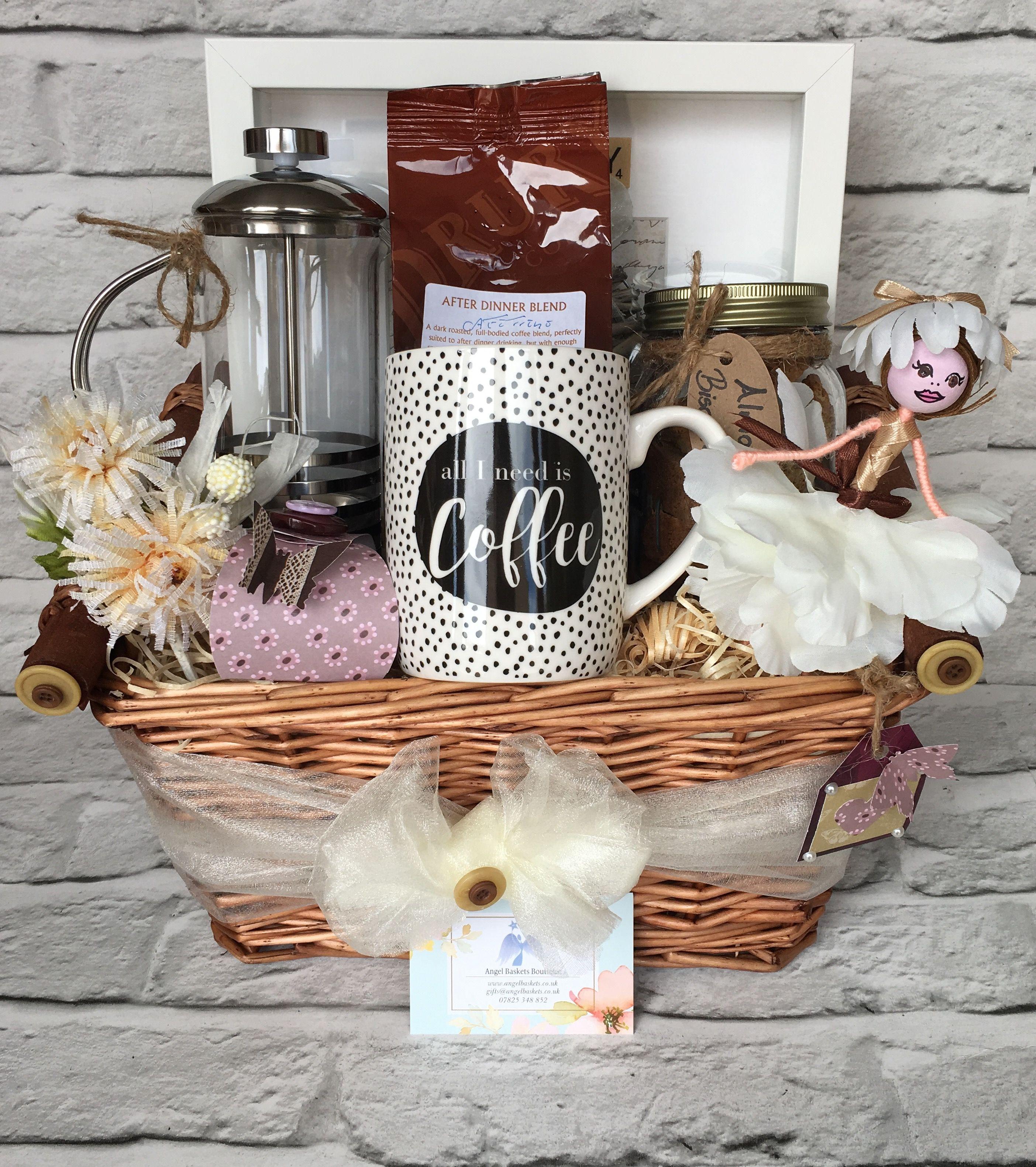Coffee lovers basket coffee gift baskets coffee lovers